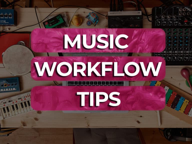 music production workflow tips