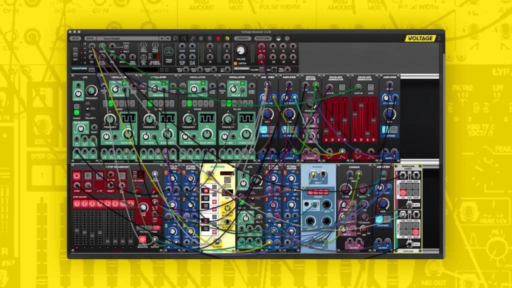 cherry audio voltage modular nucleus modular synth vst plugin