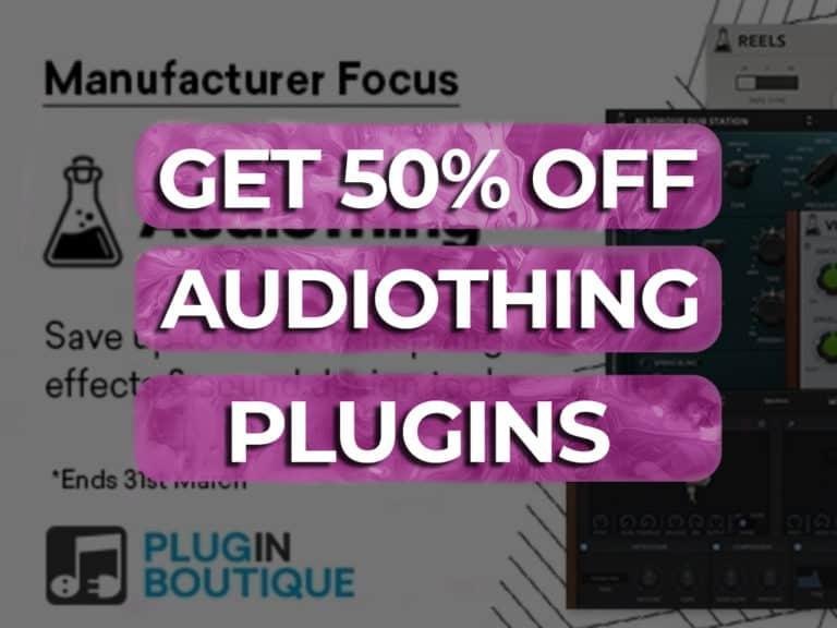 50% off audio thing plugins
