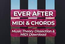sam gellaitry ever after MIDI download & chord dissection