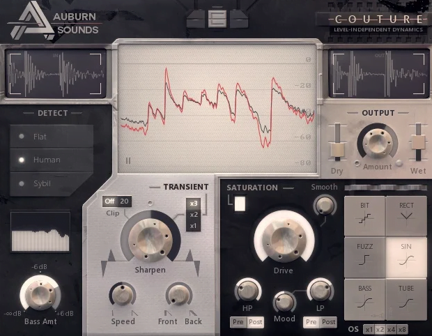 auburn sounds couture transient shaping plugin