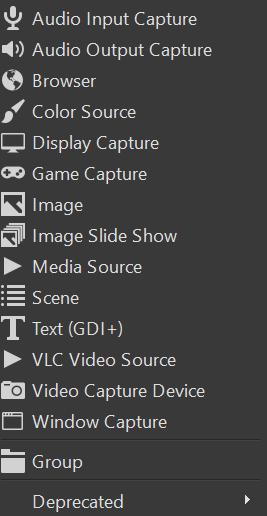 add audio input capture obs
