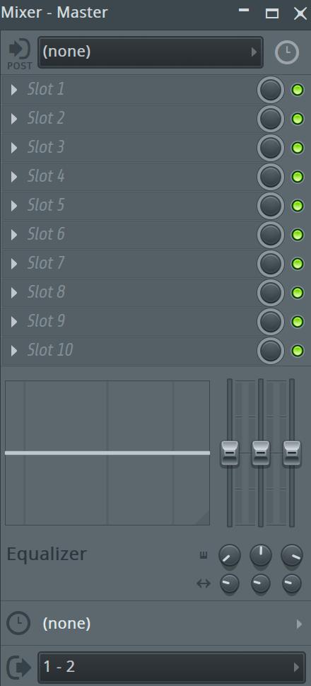 fl studio master channel
