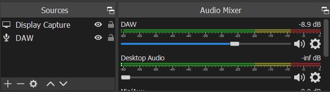 audio output capture obs windows