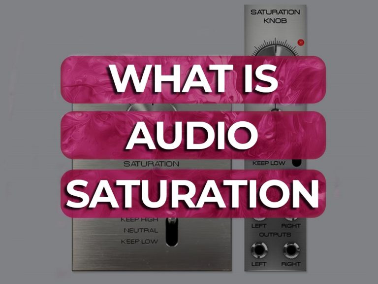 what is audio saturation