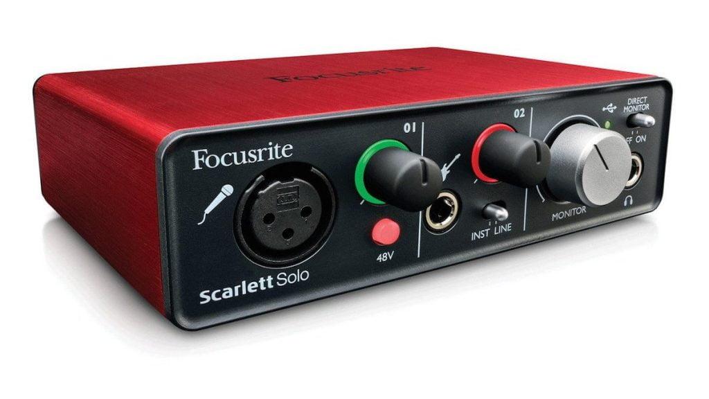 1st gen focusrite Scarlett solo