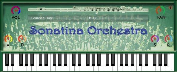 sonatina orchestra flute vst free