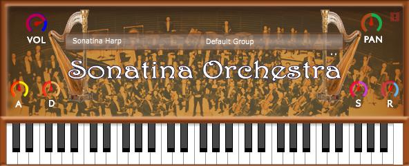 sonatina orchestra harp vst