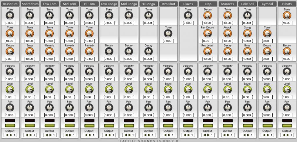 TS-808 vst instrument