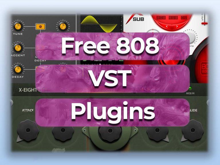 free 808 vst plugins