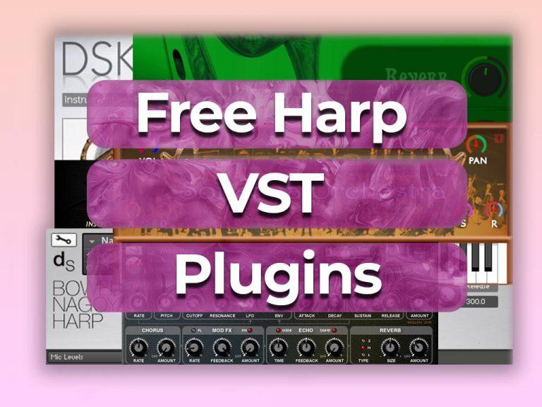 free harp vst plugins