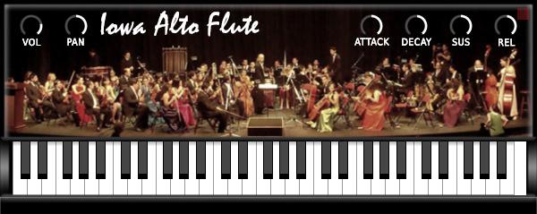 Iowa alto flute free flute vst plugin