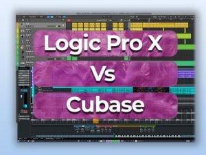 Logic Pro x vs cubase