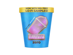 purple slush zero