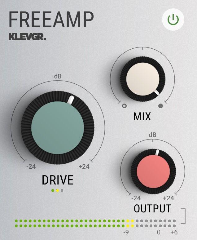 Klevgrand FreeAMP saturation vst plugin