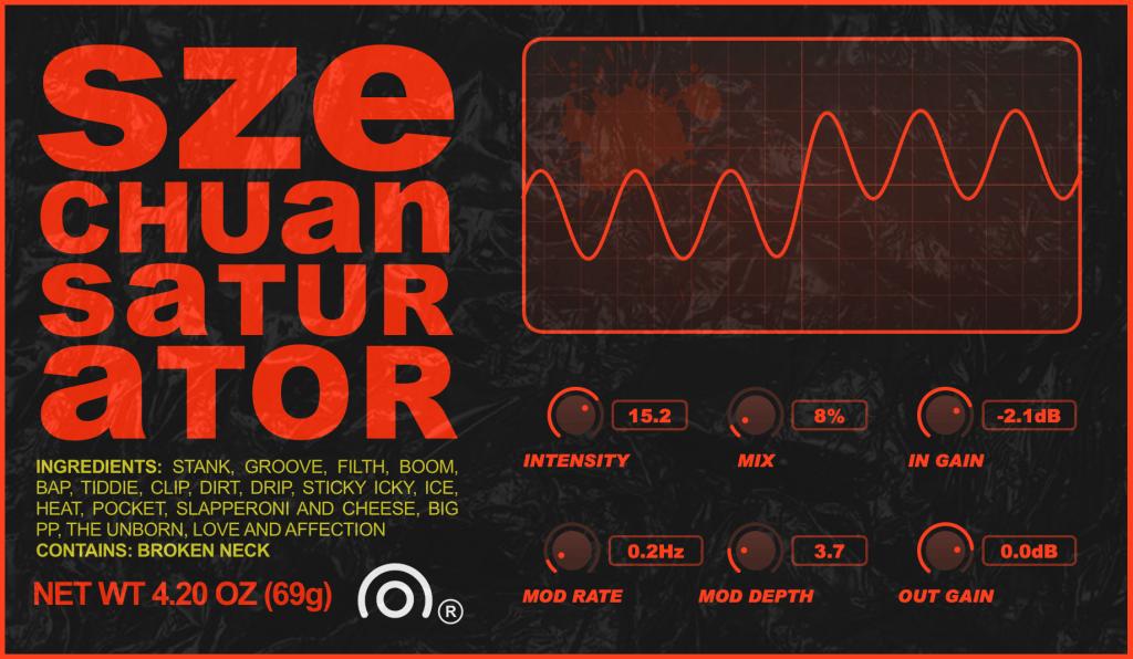 Szechuan saturator free saturation plugin