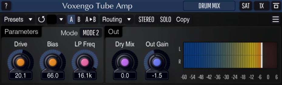 Voxengo tube amp free vst plugin