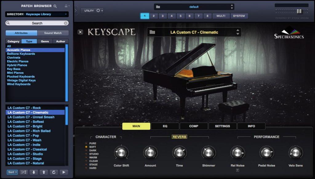 keyscape in Omnisphere
