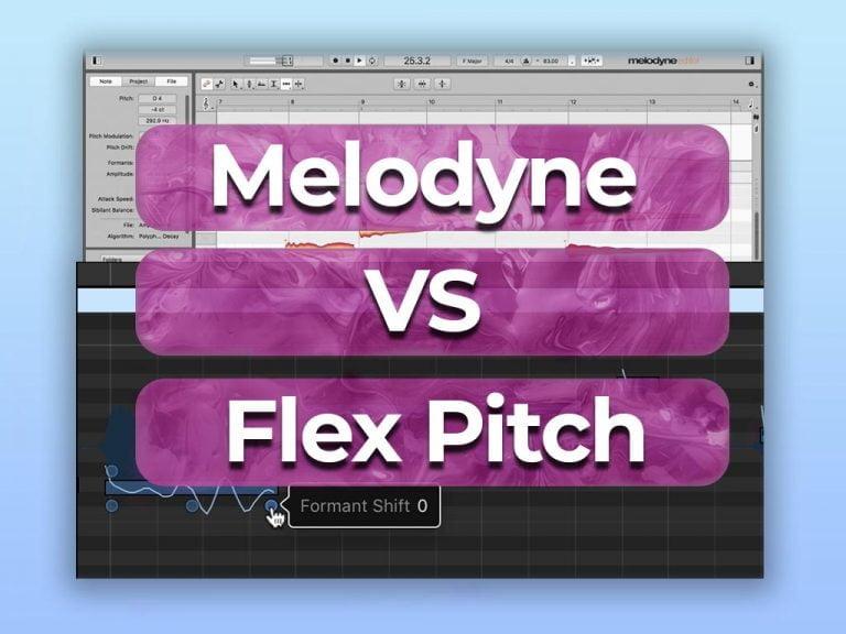 melodyne vs flex pitch