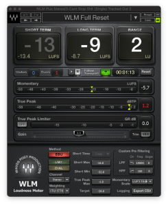 waves wlm loudness meter for mastering