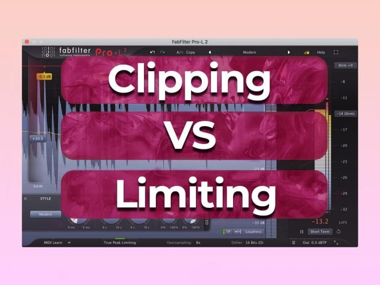 what is the difference between clipping and limiting