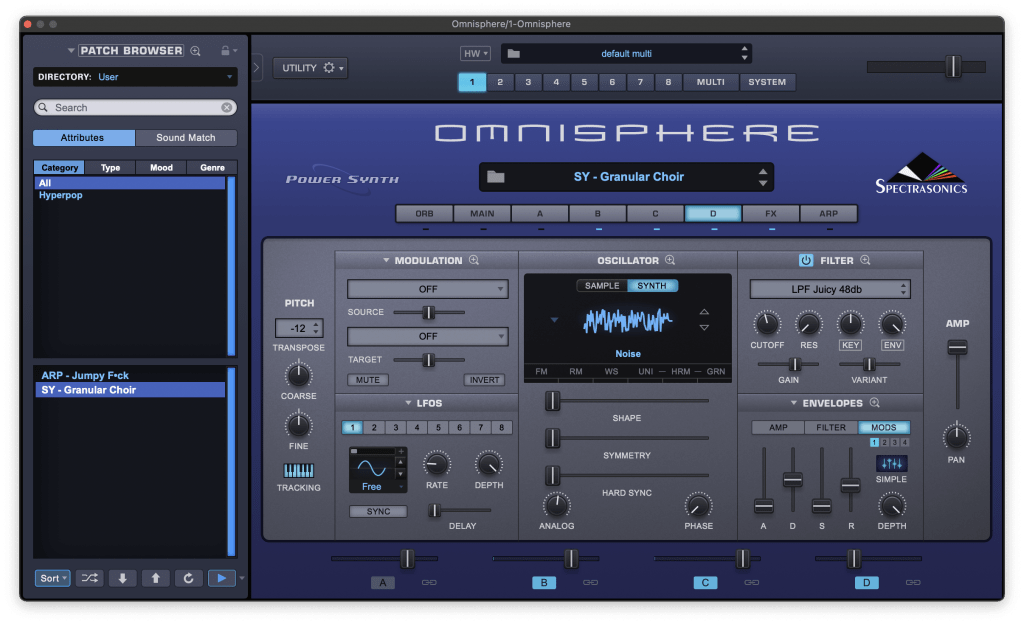 omnisphere hyperpop preset
