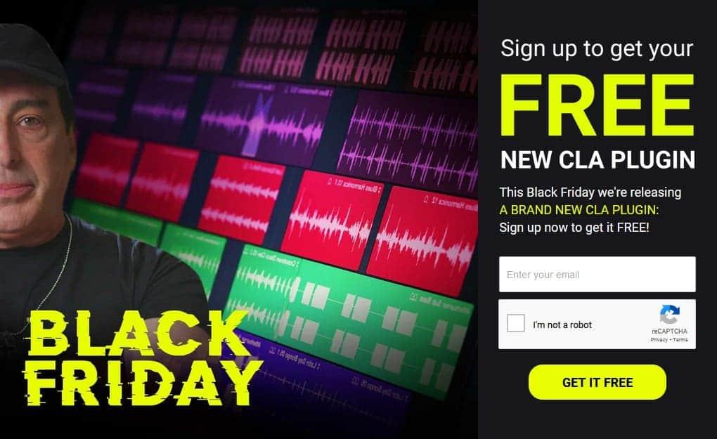 waves CLA Black Friday plugin free download