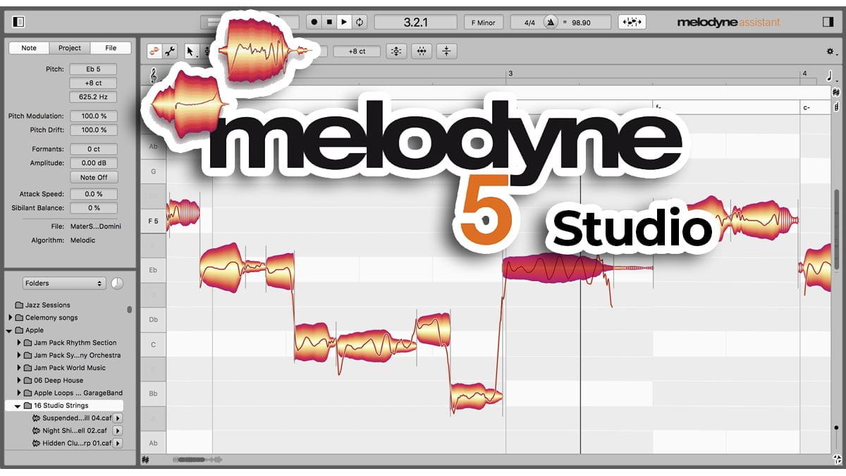 melodyne 5 studio