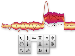 melodyne studio edit notes as waveform